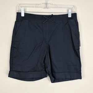 Izod Navy Pull On School Approved Shorts Size 12.5